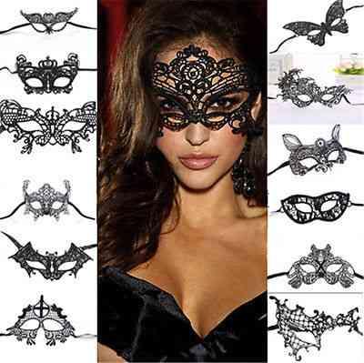 Women Lace Eye Mask, Masquerade Ball Prom Halloween Costume Play