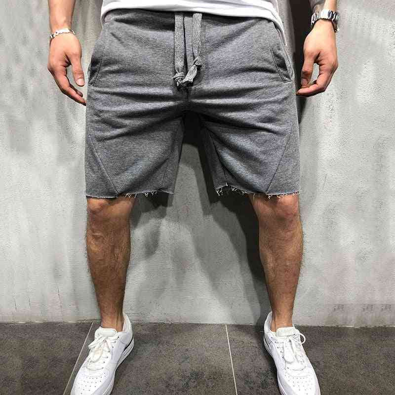 Men Wild Style Ripped, Short Pants Jogger For Workout