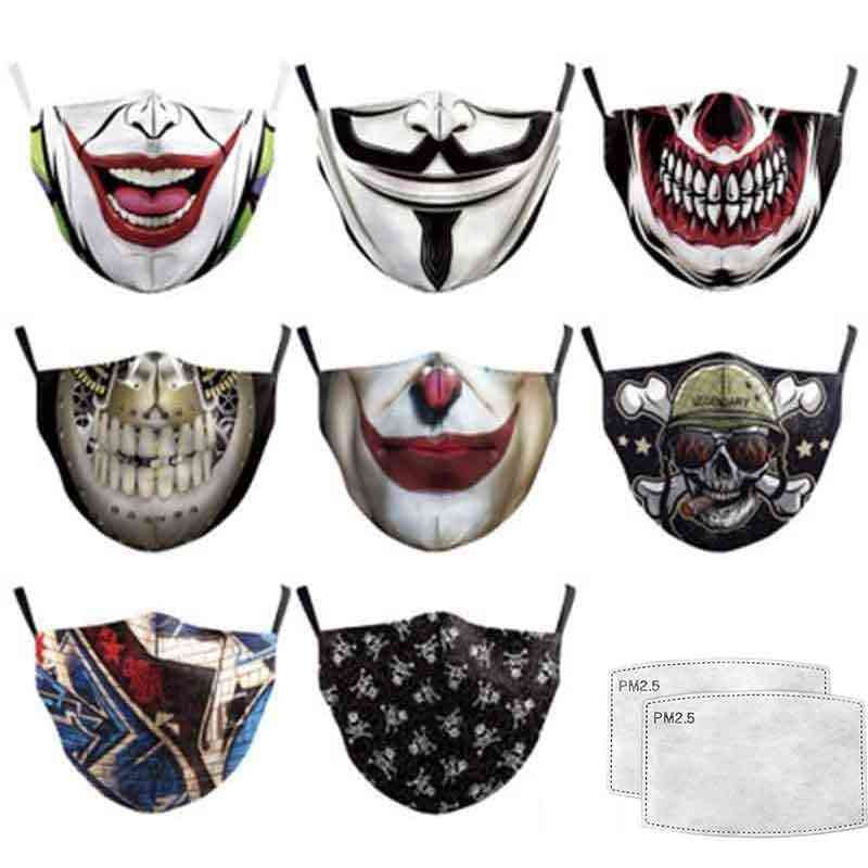 3d Printed Repetitive Washable Activated Carbon Filter Insert Protective Mouth Masks