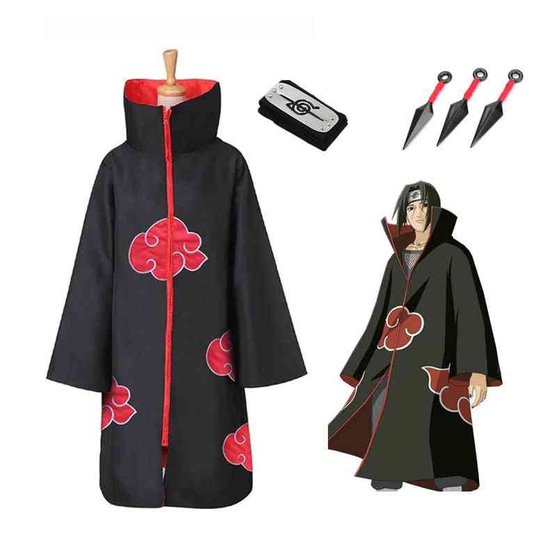 Halloween Christmas Party Costume Cloak Cape With Headband Necklace Ring