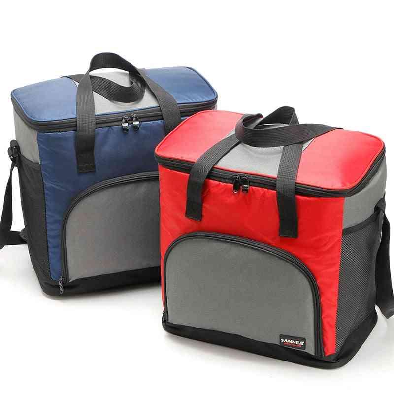 25l- Capacity Portable, Thermal Cooler Bag For Food