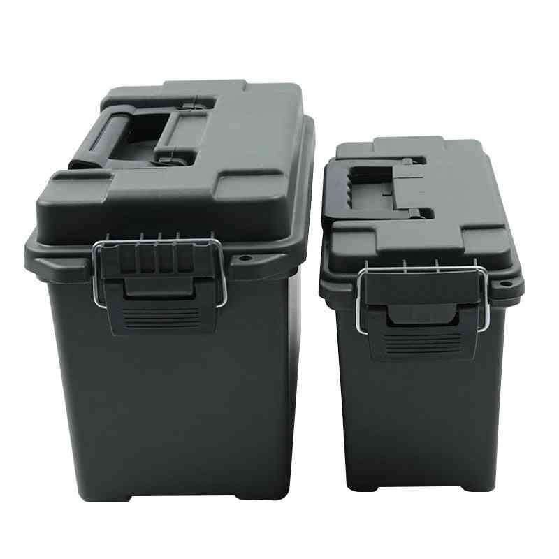 Military Style Storage Plastic Ammo Box, High Strength, Lightweight