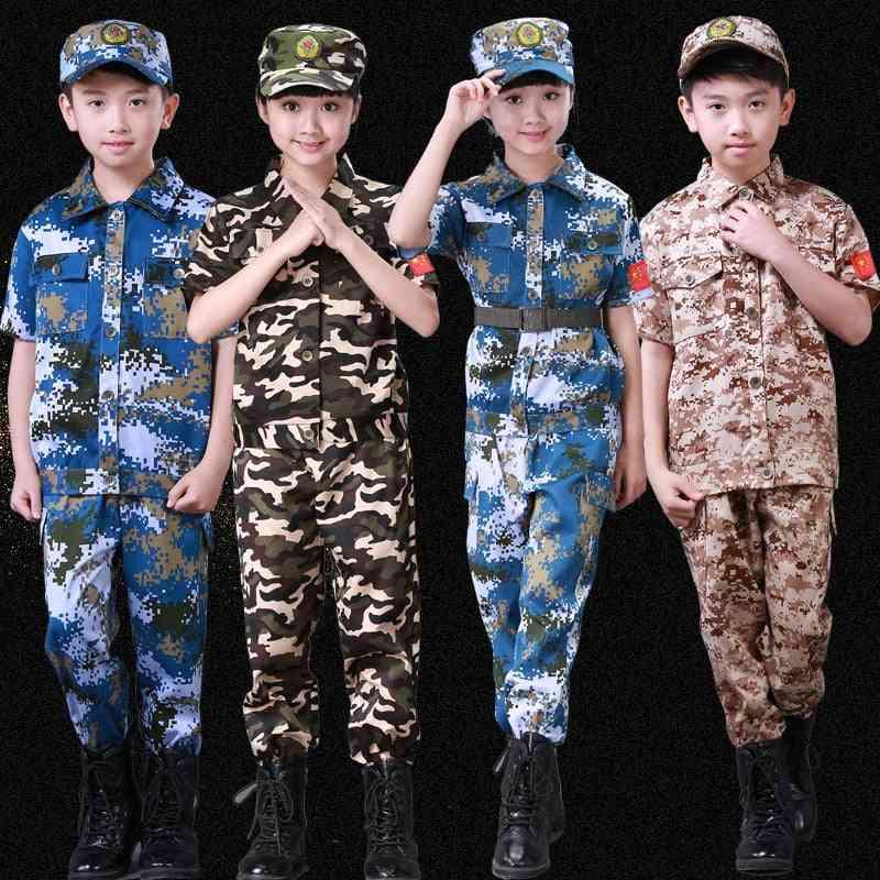 Children Camouflage, Military Uniform Set-1