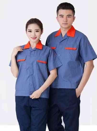 Men, Woman Short Sleeves, Workshop Shirt