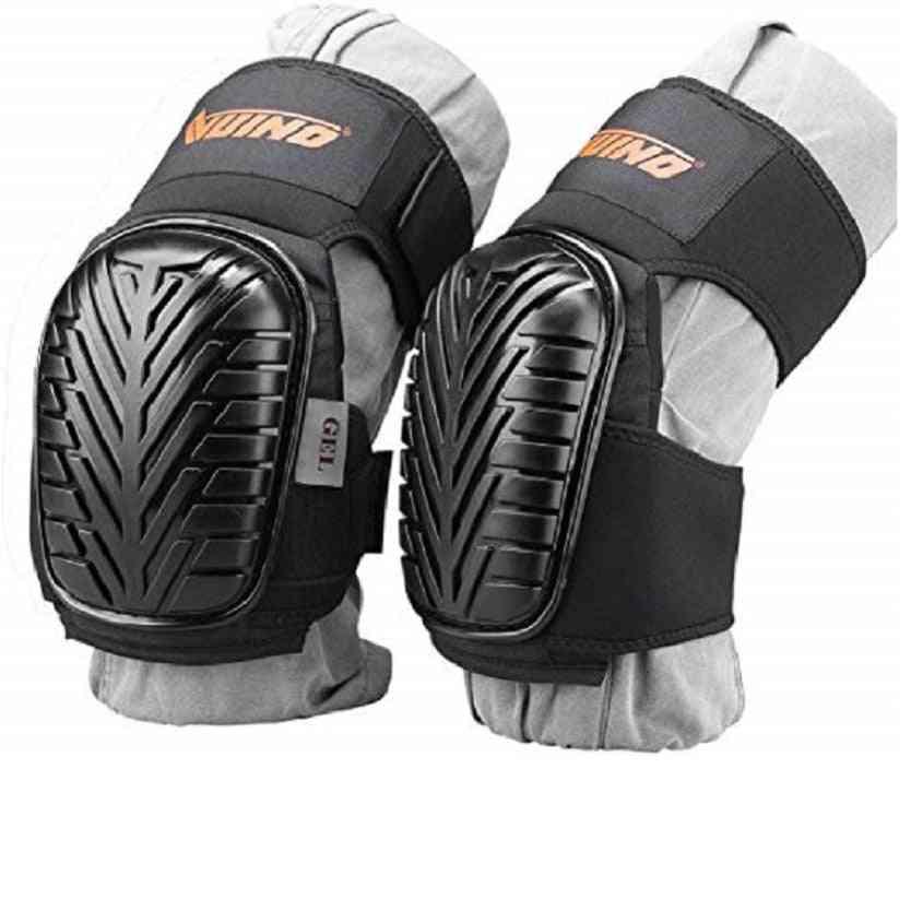 Professional, Heavy Duty Eva Foam Padding Knee Pads With Adjustable Straps