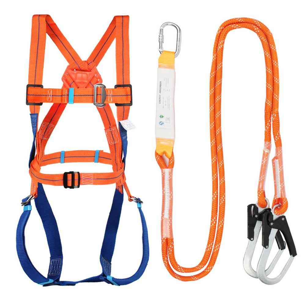Industrial Safety Harness, Work Adjustable Rescue Rope