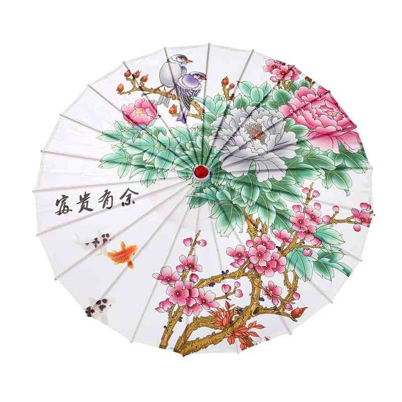 Wedding Bridal- Chinese Style, Cheongsam Show Dance, Silk Prop Umbrella