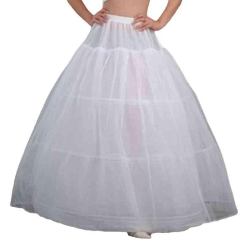 Women Bridal Maxi-petticoat-multi-layer Underskirt For Dress