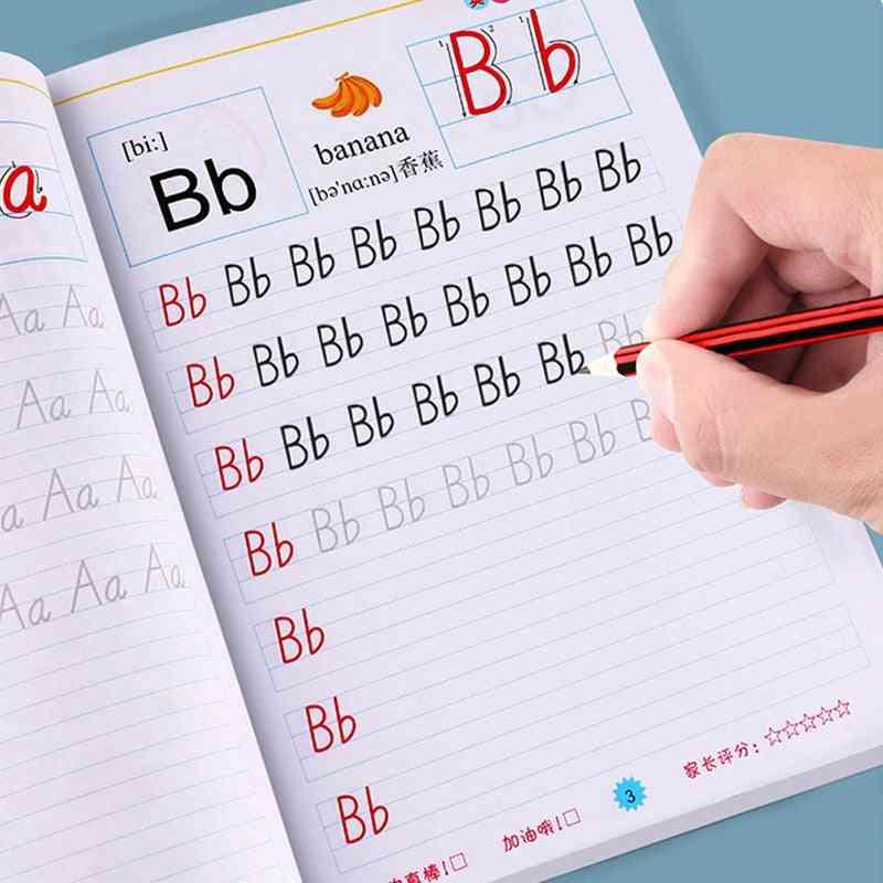 English Writing, Exercises Book For Kindergarden Kids