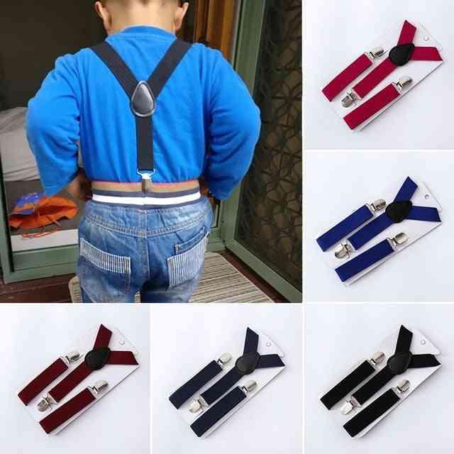 Elastic Suspenders, Polyester Adjustable Clip-on Braces Jockstrap Costume Decoration