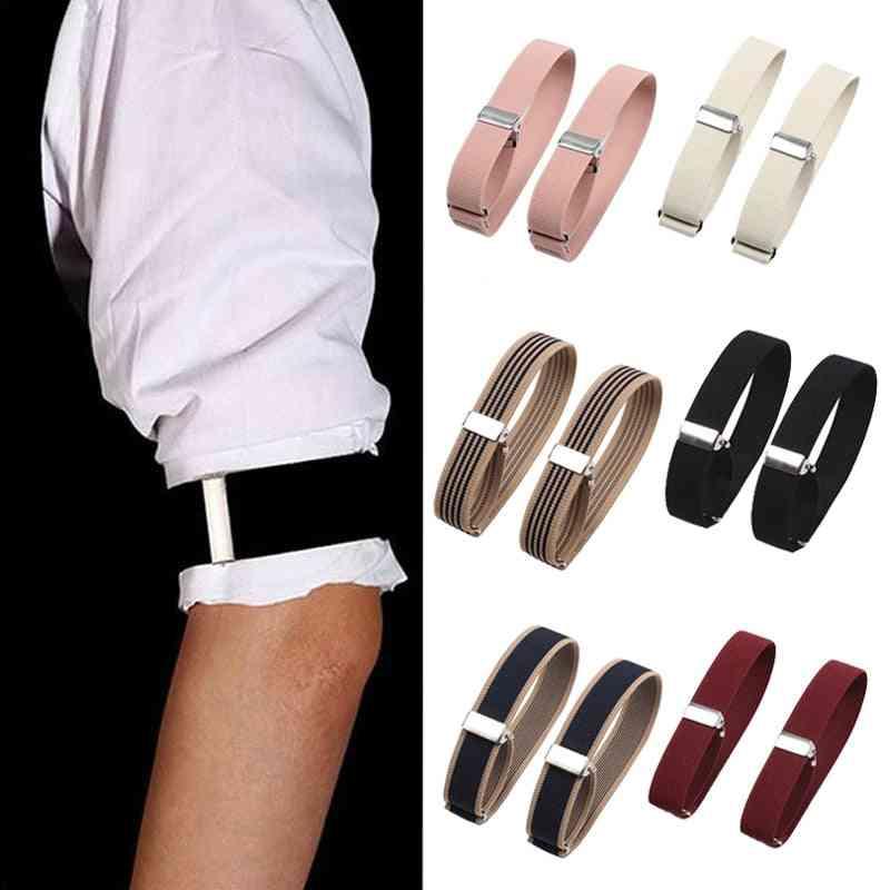 Women & Men Fashion Adjustable Arm Cuffs Bands