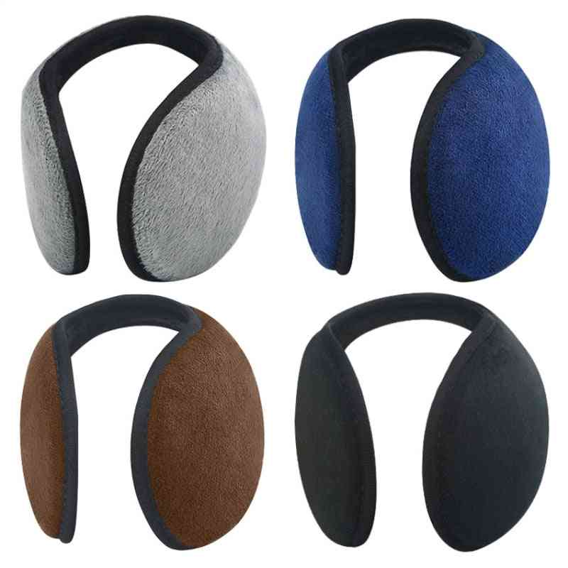 Unisex Solid Winter Ear Protector Muffs