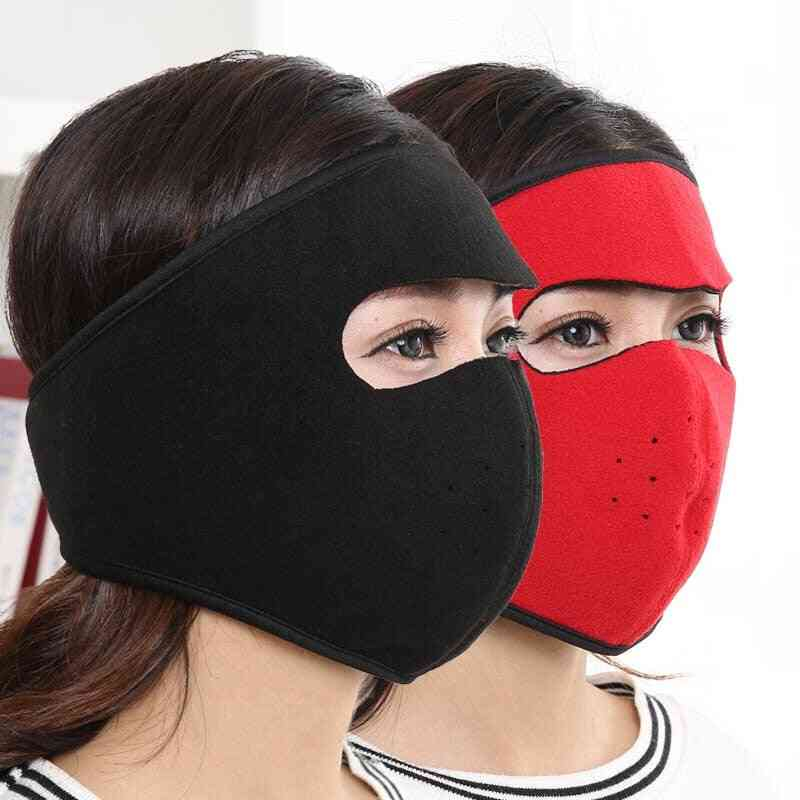 Autumn And Winter Cycling Heating Thickened Mask