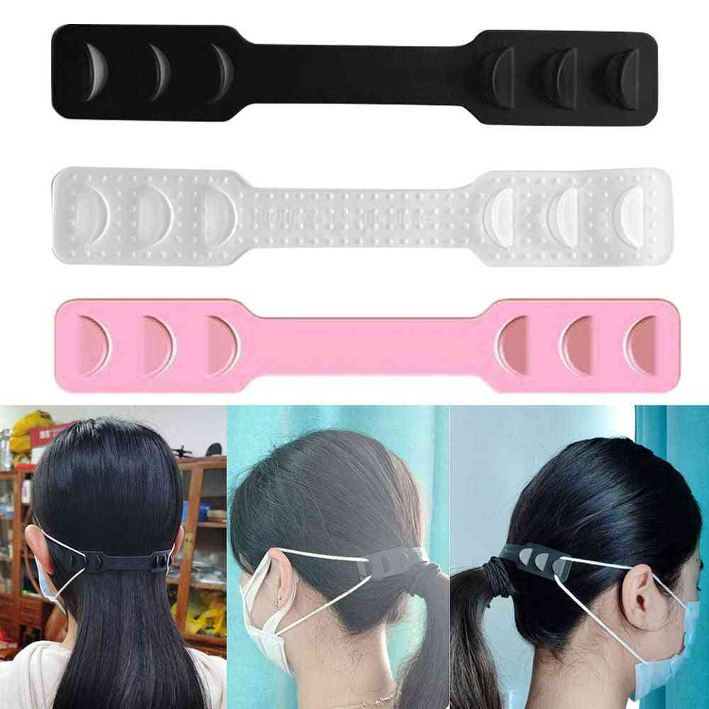 High Quality Adjustable Anti-slip Mask Ear Grips, Extension Hook