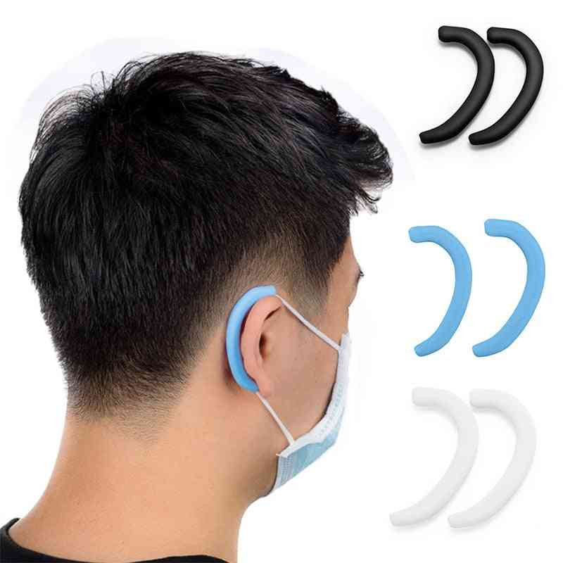 Silicone Anti Pain Earmuffs-soft Protective Ears Mask Rope Cover