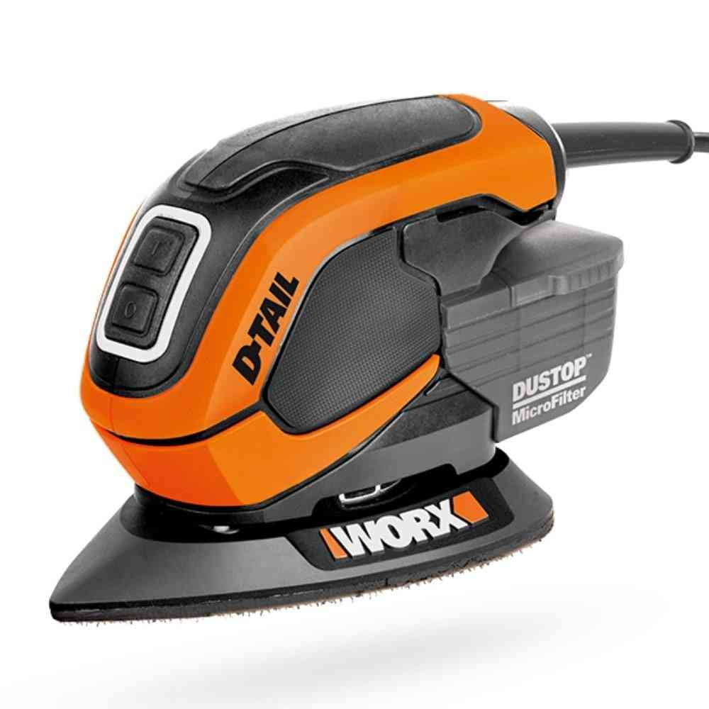 Multi-function Mouse Sander, Palm Polisher, Handheld Power, Wood Machine