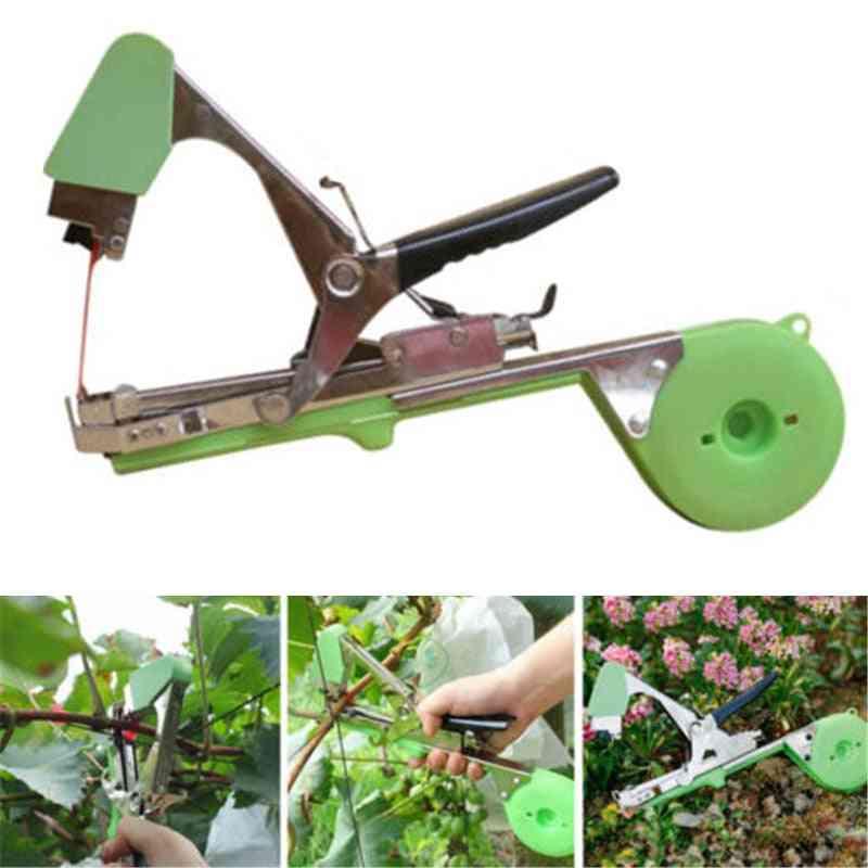 Handheld Branch Bind Strap Tape-nursery Vine Stake Tapener Tool, Bypass Pruners