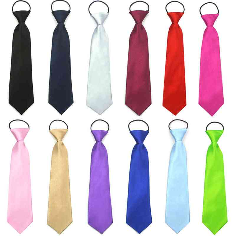 Solid Easy To Wear Neck Tie