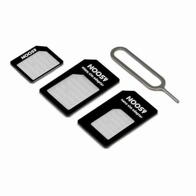 Micro Nano Sim Card Adapter Connector Kit