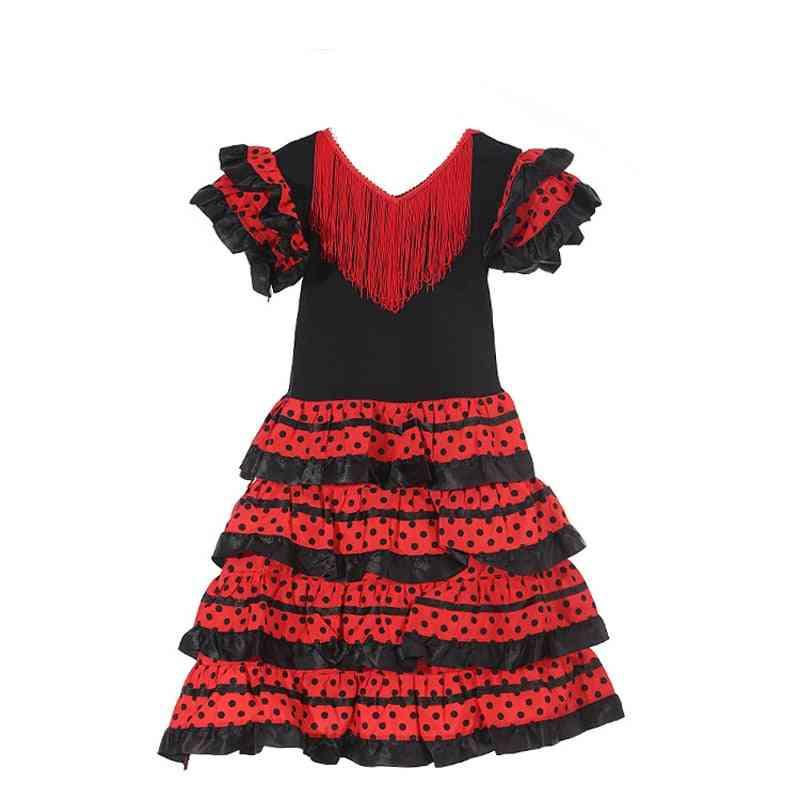Traditional Flamenco Dance Dress For