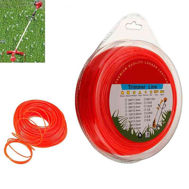 2.4mm Grass Trimmer Line-nylon Rope, Low Noise Durability