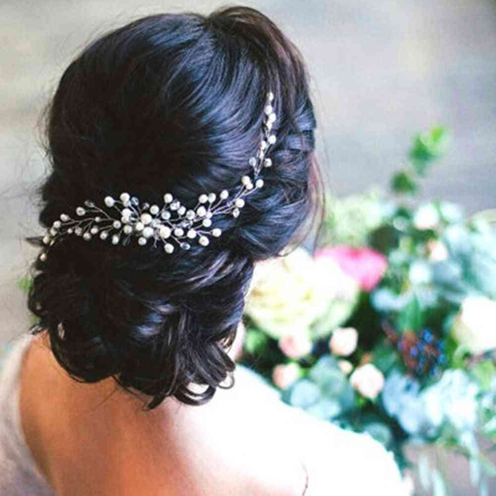 Styling Pearl Hairpin, Bride Headwear Ornaments Accessories