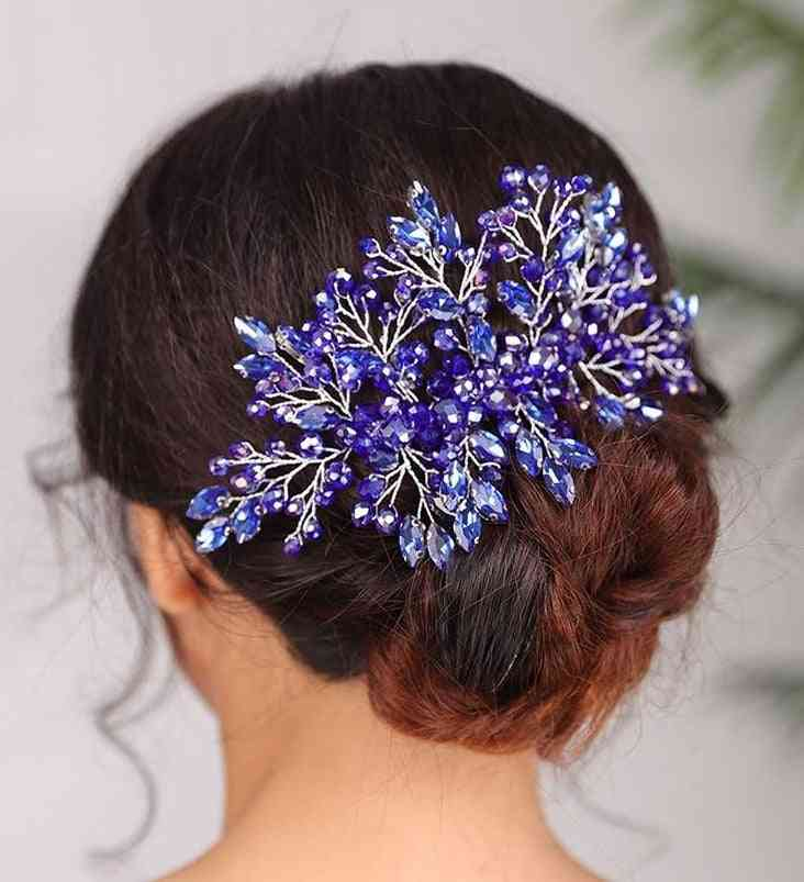 Women Combs, Bridal Hair Jewelry, Head Decoration Ornament