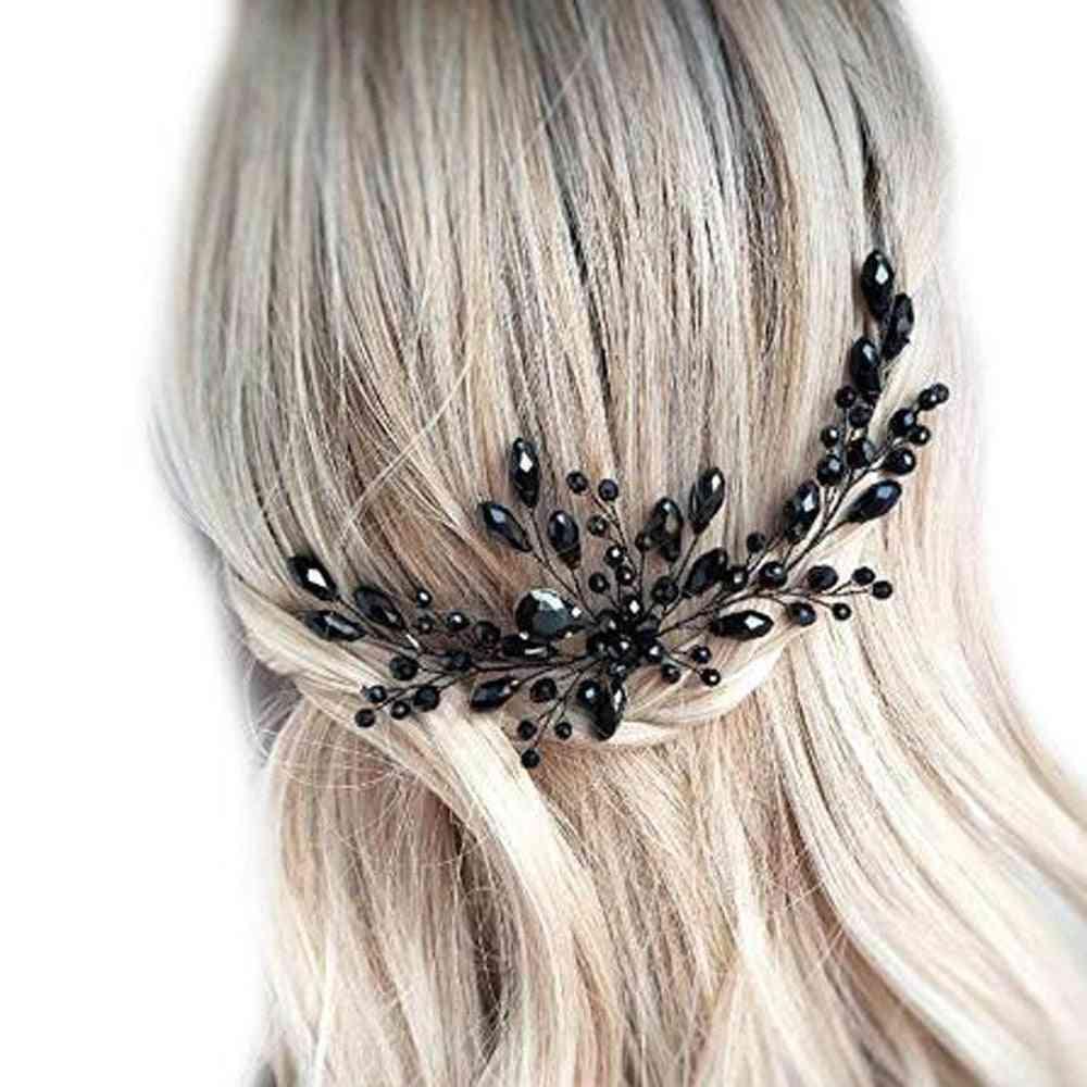 Wedding, Crystal Decorative Hair Pins Clip