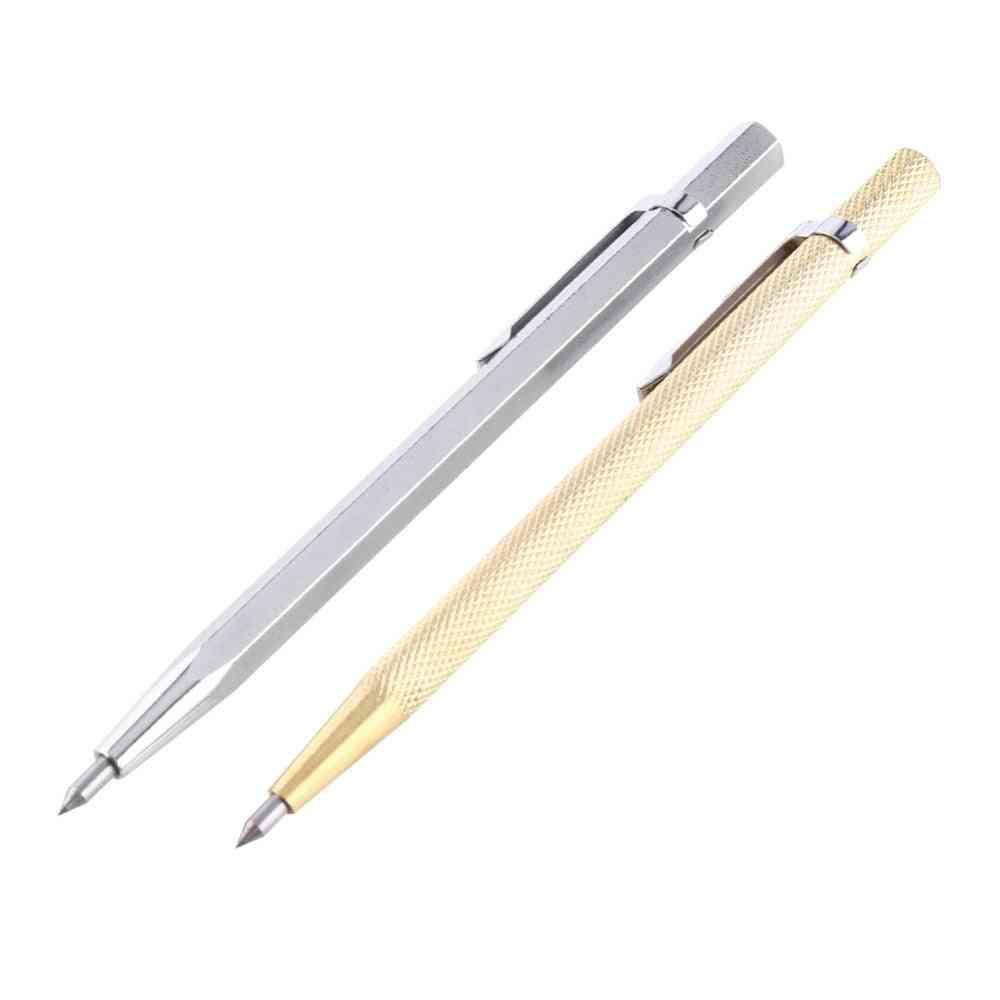 Diamond Metal Marking, Engraving Carbide, Scriber Pen For Wood Carving, Scribing Hand Tools