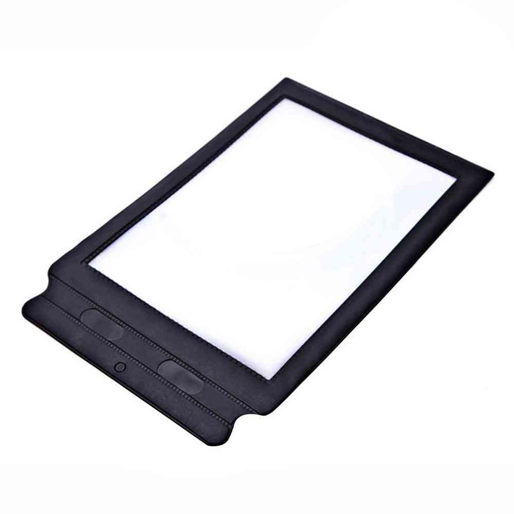 A4 Full Page Reading Aid Lens Magnifier Sheet Magnifying Glass