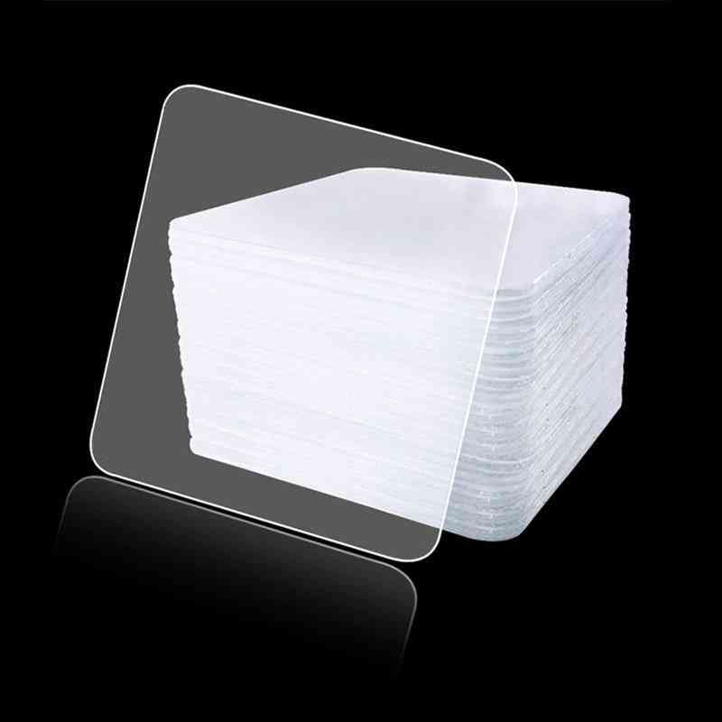 20pcs Of Double-sided Adhesive Tape, Super Sticky, Pvc Non-marking And Transparent
