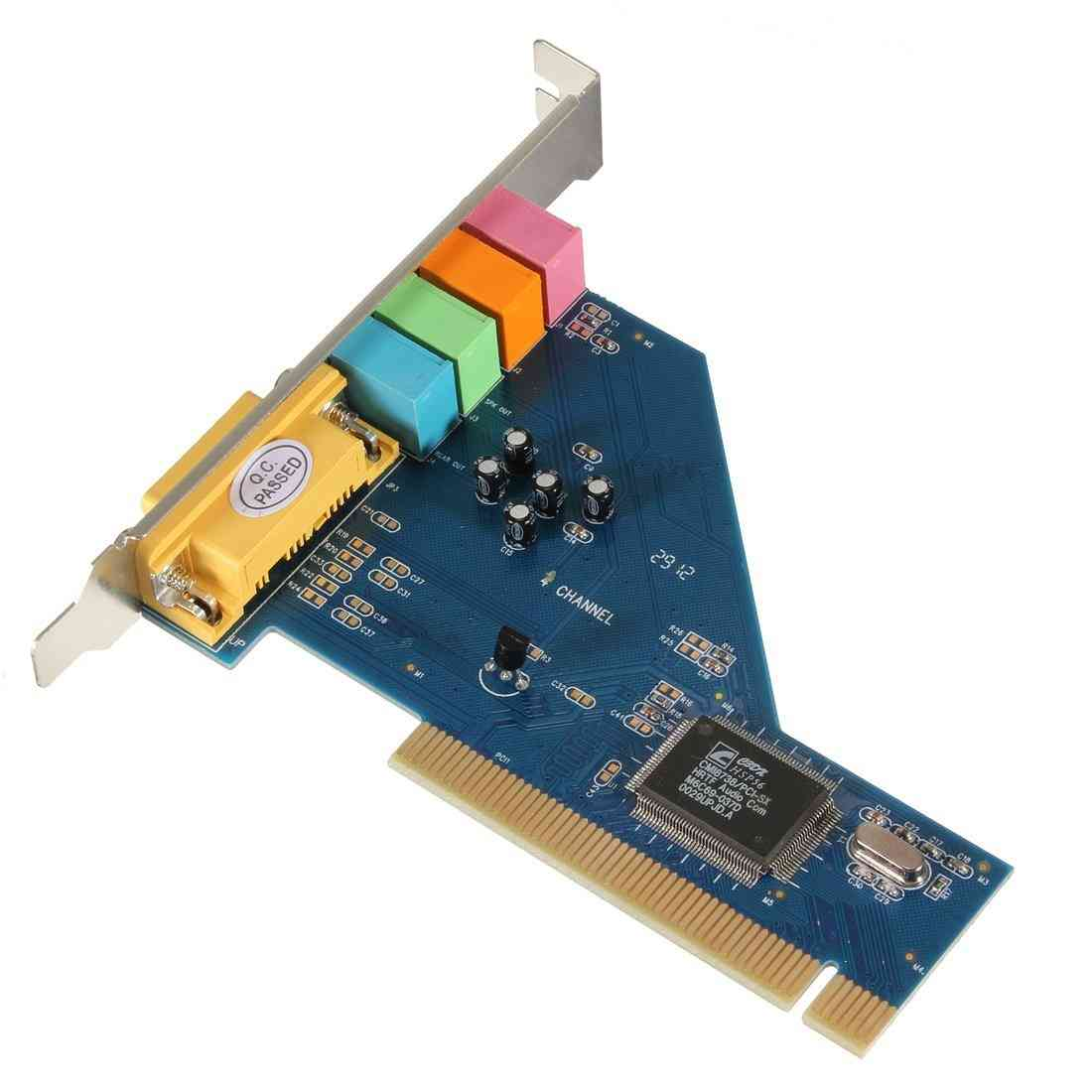 4 Channel, 3d Audio Stereo - Pci Sound Card