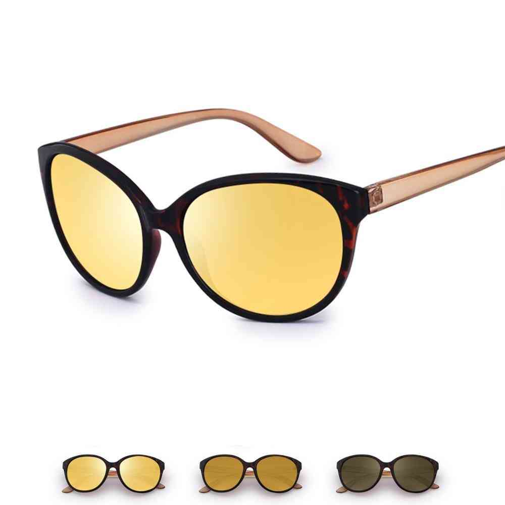 Anti-glare Lens, Yellow Polarized Sunglasses