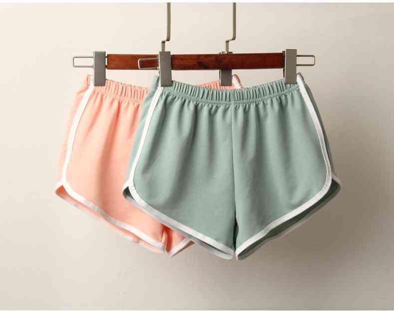 Women Summer Anti Emptied Skinny Casual Sports Short Pants