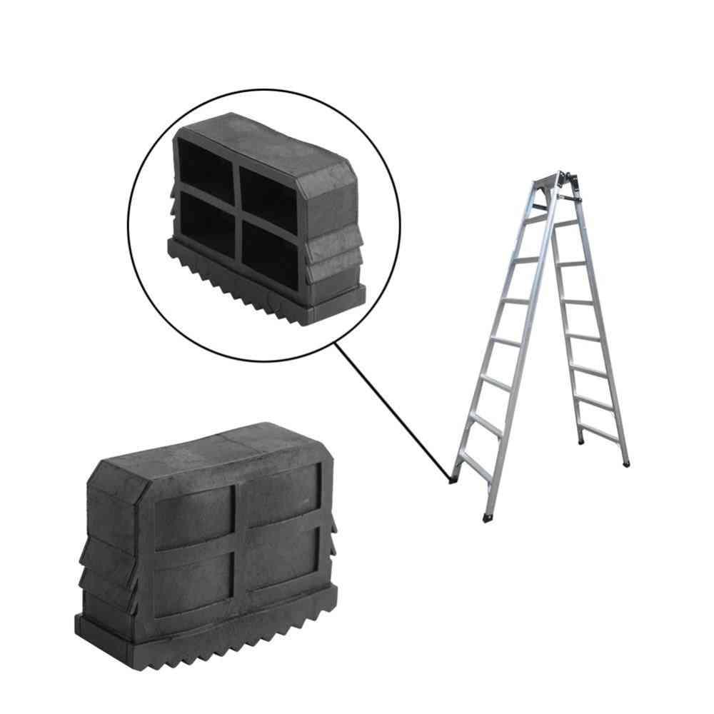 Non-slip Ladder, Feet Rubber Grip Cushion Foot Mat Sole Cover Tools