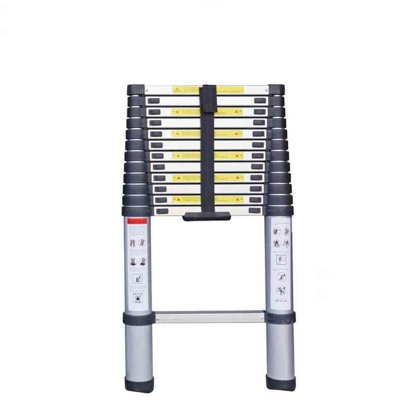Telecopic Aluminum Extending Straight Retractable Ladders With 13-steps