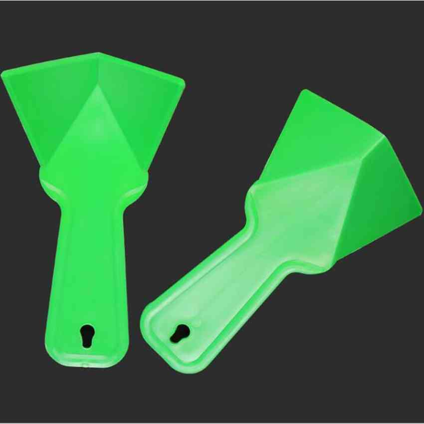 Plastic Drywall Corner Scraper Finisher Cleaning Stucco Removal Builder Tool