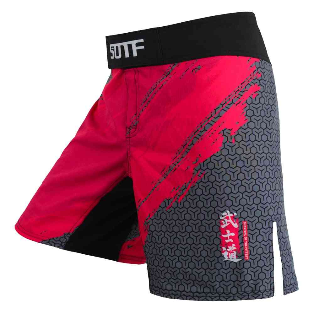 Boxing Sports Fitness Monkey Personality Breathable Loose Shorts