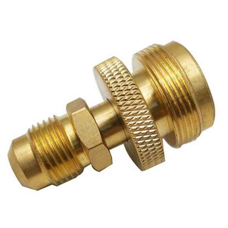 3/8male Thread Connector, Portable Camping Grill Stove Parts, Propane Tank Regulator Adapter