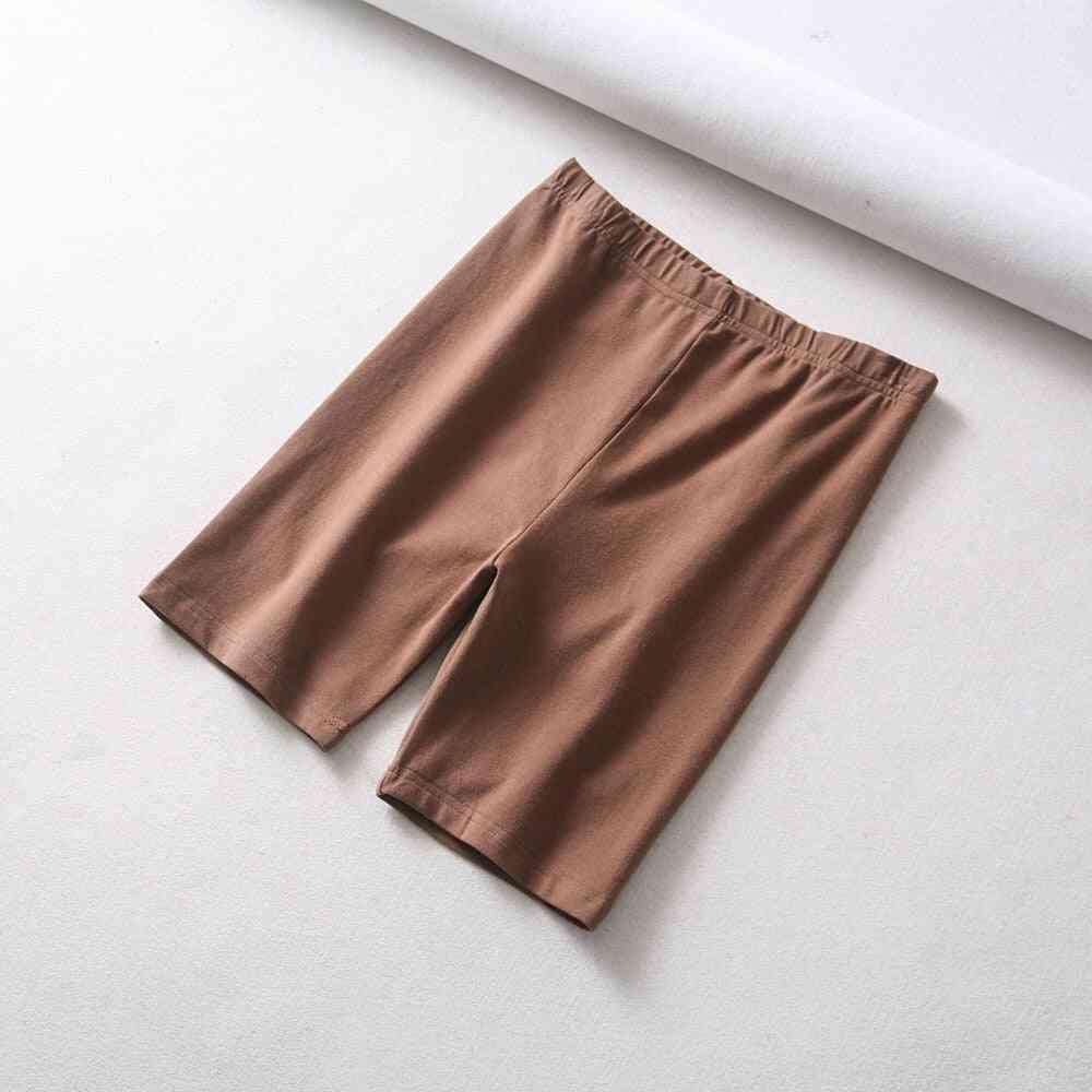 Summer Vintage, High-waist Cotton Shorts, Sweatpants