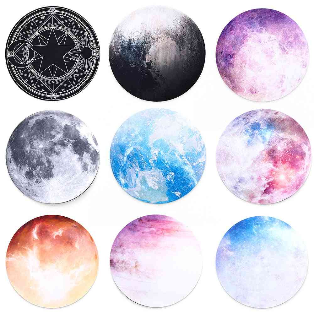 Non-slip Round Mouse Planet Series Pad