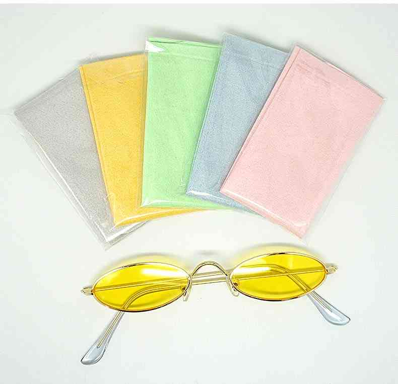 Microfiber Glasses Cleaning Cloth For Lens, Phone Screen