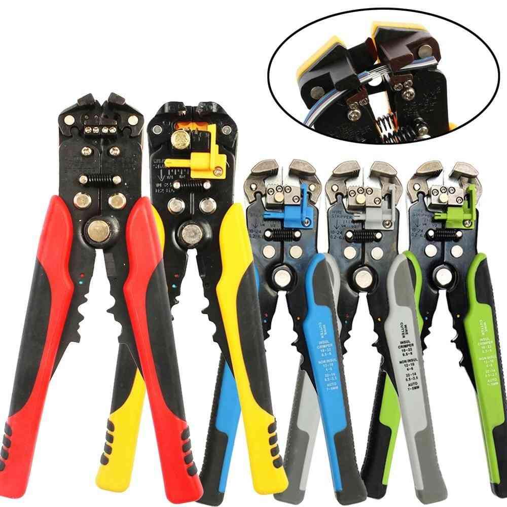 Multifunctional Automatic Stripping Pliers Cable Wire Strippers Crimping Tools Cutting
