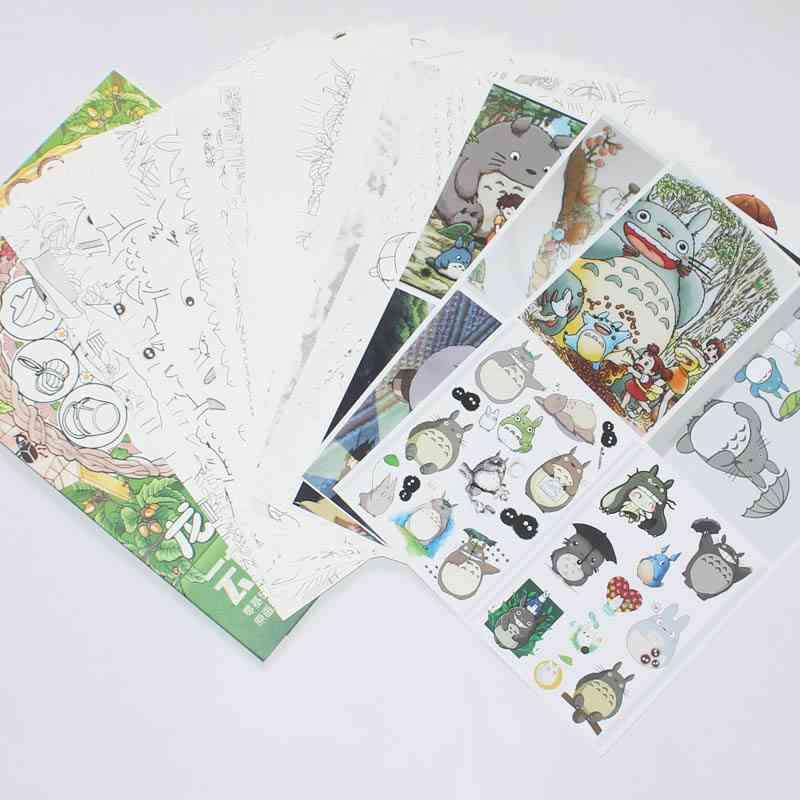 Anime My Neighbor Totoro Coloring Book