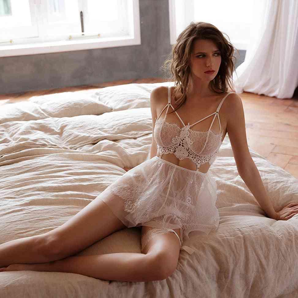 Underwear Clothes, Lace Chemise Cosplay Women Sleepwear Lingerie Panties