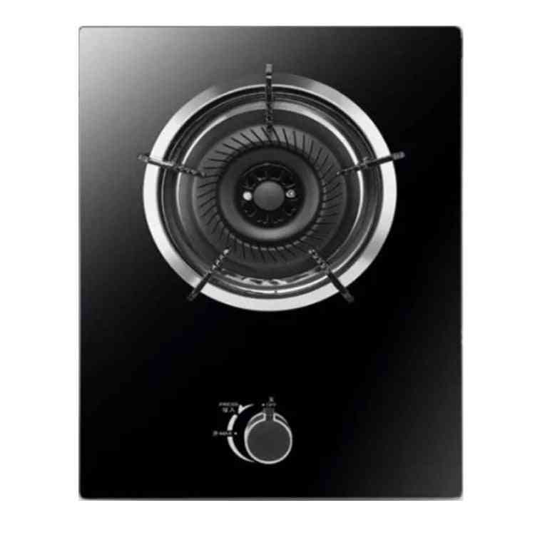 Domestic Natural, Liquefied Gas Hobs, Steel Glass, Single Stove, Single-cooker
