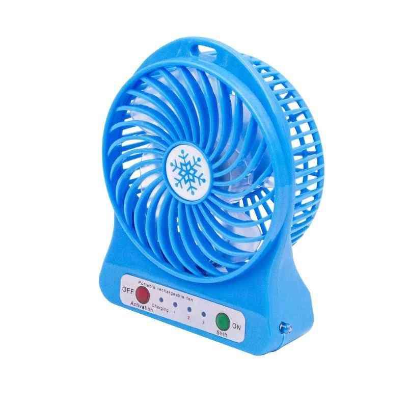 Portable Mini Hand Held Desk Air Cooler, Silent Travel Humidification Fan