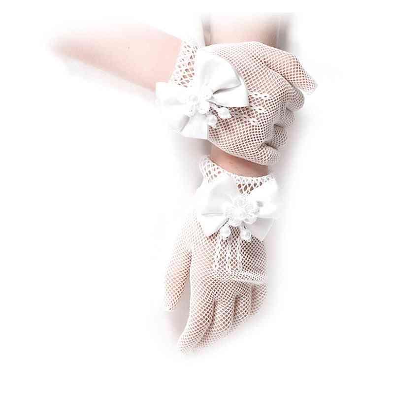 Women Fingerless Bridal Gloves