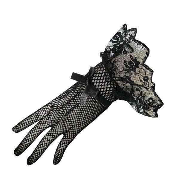Bride Dress, Lace Finger Gloves, Wedding Accessory