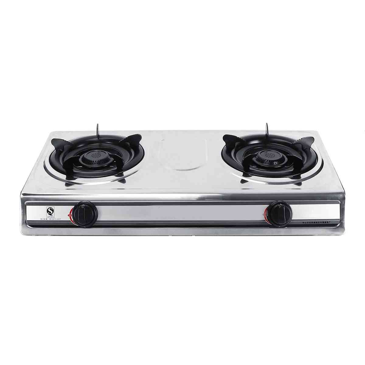 Fierce Double-stove & Benchtop Lpg Liquefied, Cooker Stove With Two Pots
